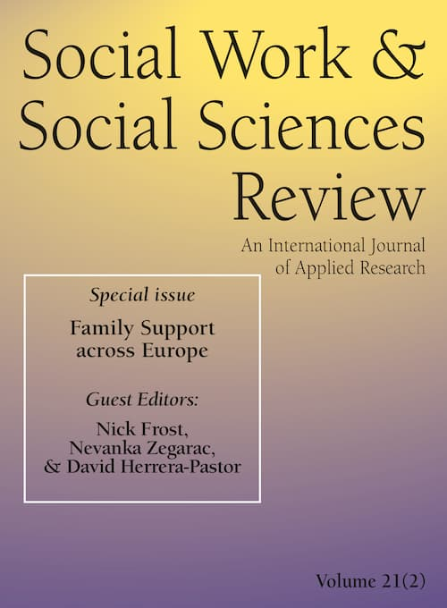 Journal of Social Work and Social Sciences Review